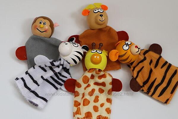 Пальчиковый кукольный театр. Набор игрушек на пальцы