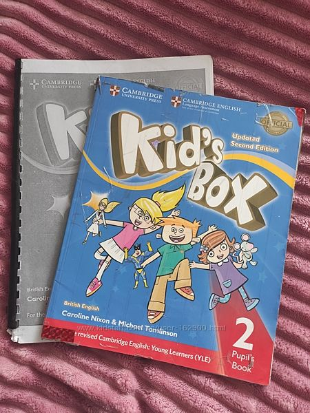 Kid box 2 update second edition