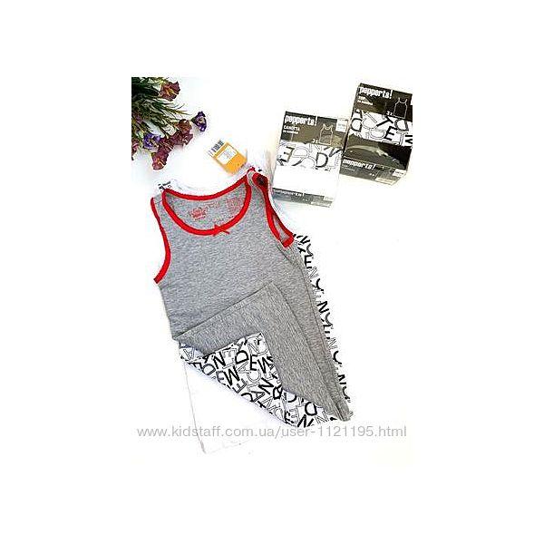 Набор, комплект, майка, футболка, кофта pepperts для девочек 122-152см. Германи