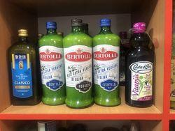 Оливковое масло De Cecco, Monini, Bertolli, Carapelli. Нефильтрованное масл