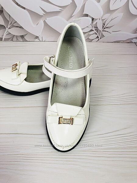 Белые туфли 34 р.