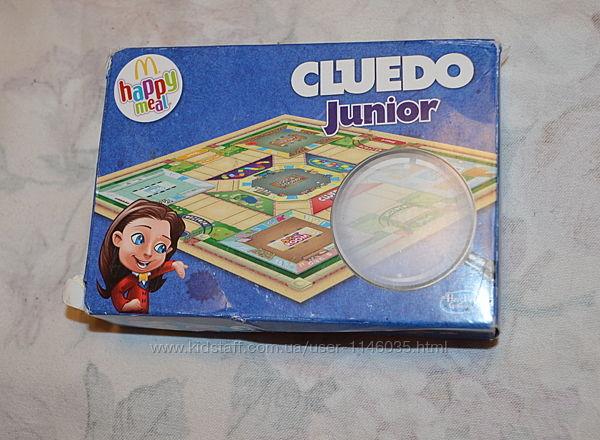Сluedo junior, детская настольная дорожная игра