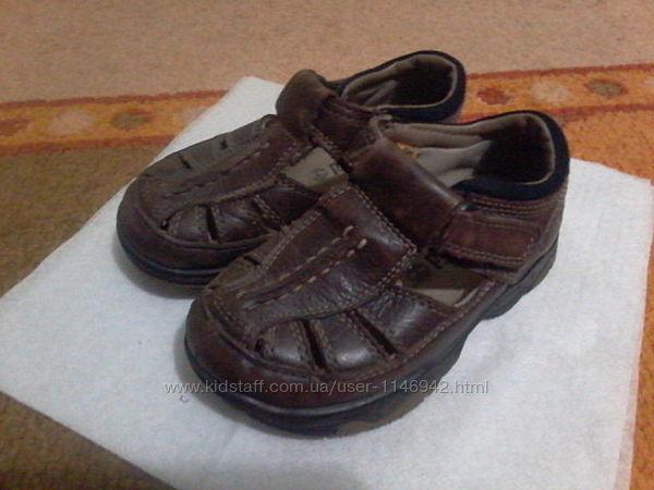 Шкіряні сандалі, босоніжки Timberland, розмір 25, 15,5 см