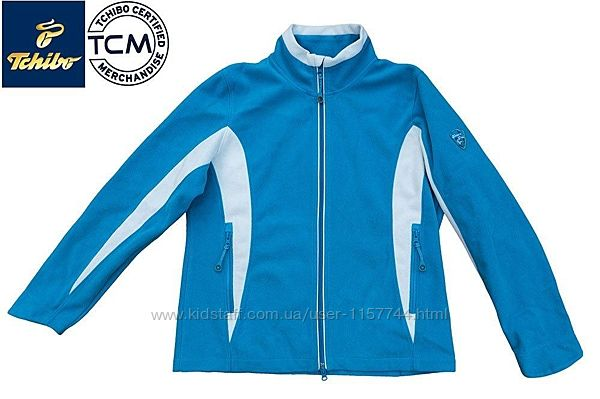 Флисовая куртка TCM nature trail германия р. L - xl размер.