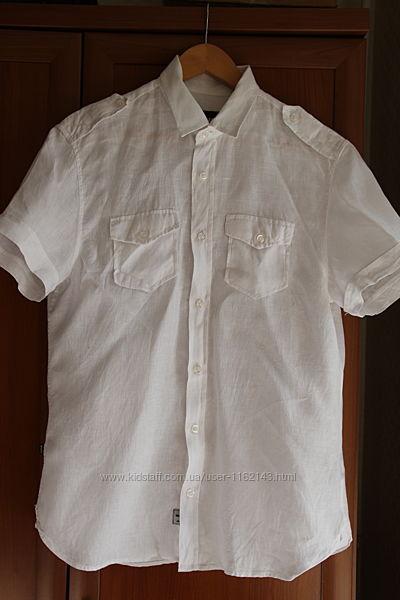 белая летняя рубашка