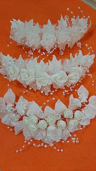Свадебные веночки-веточки распродажа