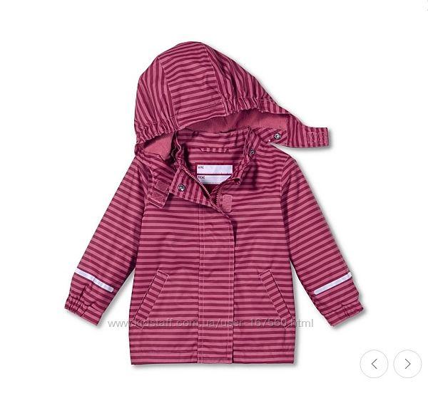 Термо куртка на флисе для девочки р.98/104 курточка от ТСМ Tchibо, Германия
