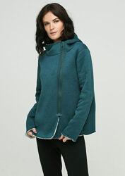 Теплая трикотажная куртка толстовка на меху р. S кофта Esmara Германия