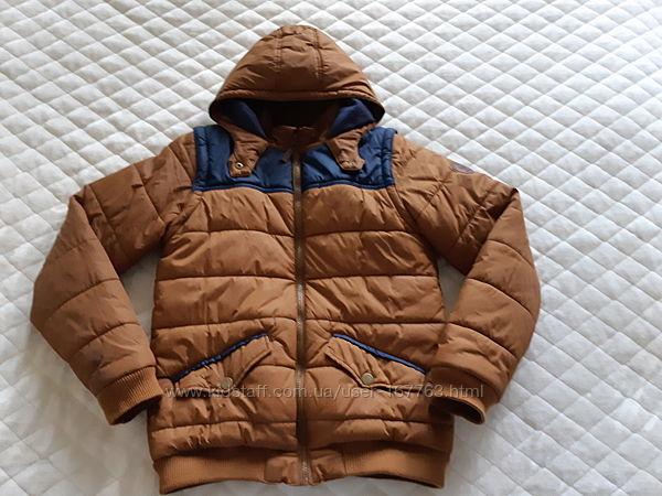 Деми куртка теплая LC WAIKIKI на 12 13 лет 150 156см. 2в1 куртка и жилет