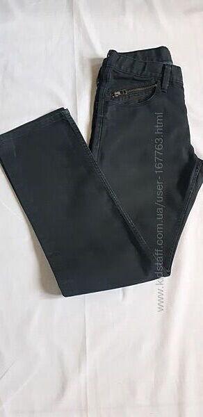 Стильные джинсы H&M на 11 12 лет 152см хлопок с пропиткой. Состояние новых