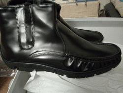 Итальянские зимние ботинки Giardini на меху.