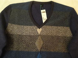 Стильный мужской джемпер пуловер Benetton