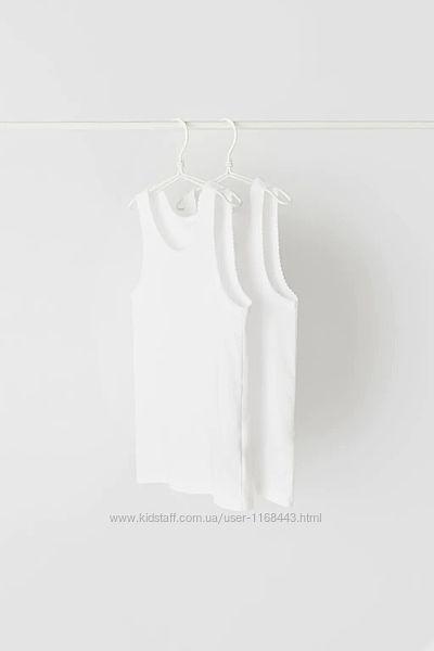 Набор из двух маек Zara с кружевной отделкой 8-9, 11-12 лет