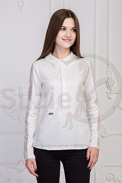 Блузка-гольф трикотажная Эсма Suzie 140 размер для девочки 10 лет новая