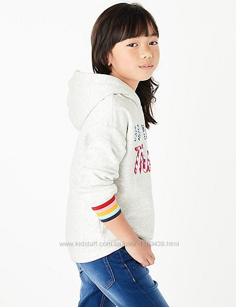 Толстовка с капюшоном Marks&Spencer 11-12 лет рост 152 см новая