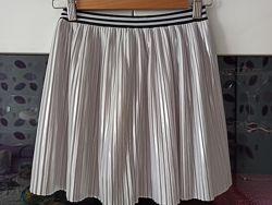 Юбка плиссе серебро I Love girlswear для девочки 10 лет рост 140 см