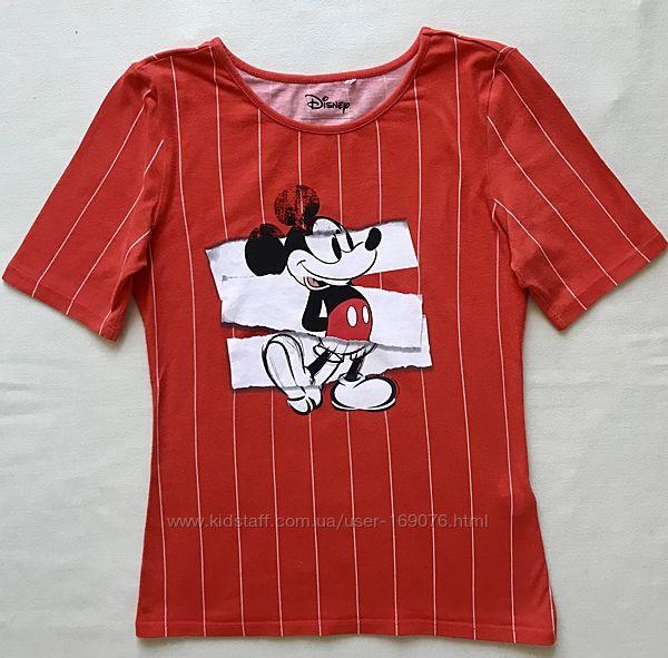 Яркая футболка Reserved с принтом для девочки