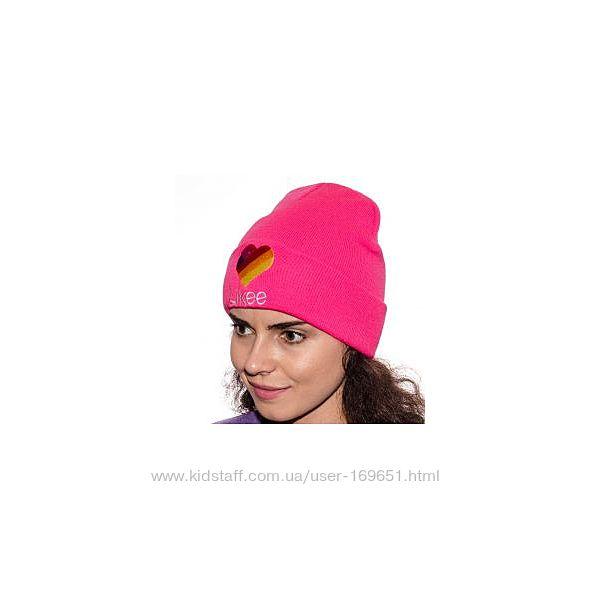 Модная шапка likee