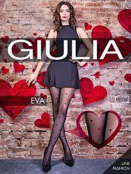 Колготки в сердечки EVA Giulia