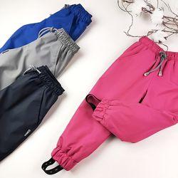 Детские непромокаемые штаны для девочки и мальчика весенние на девочку