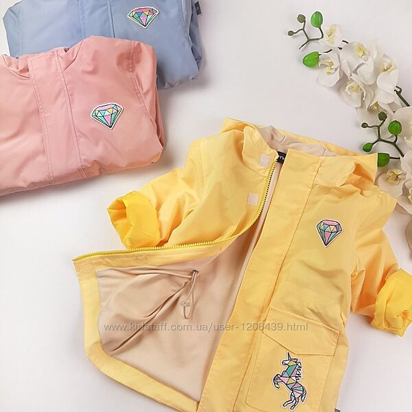 Детская ветровка на девочку парка летняя куртка для девочки