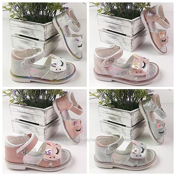 Детские босоножки для девочки сандалии на девочку летняя обувь