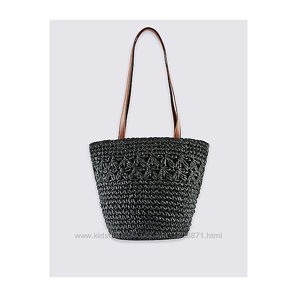 Плетёная сумка M&S