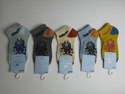 Носки детские с принтом робот шугуан премиум качество