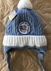Зимняя шапка на малыша