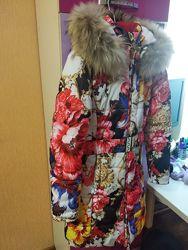 Зимний плащ куртка Кико