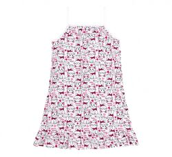 р.110-158  Летняя ночная рубашка на девочку Бемби