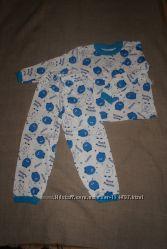 новая теплая пижама для мальчика подросток 36 на 6-8 лет