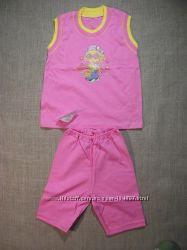 комплекты для девочек шорты , лосины 32-34грн