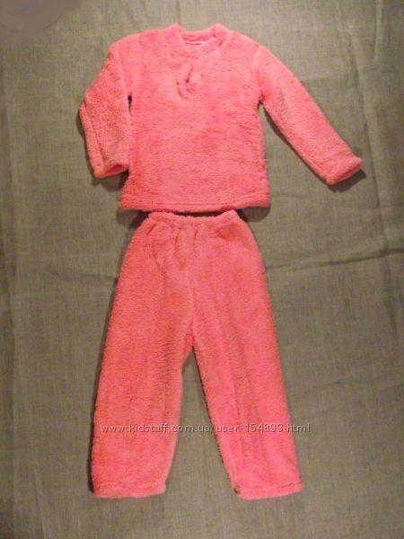 новые теплые пижамки махра рваная  26-34 размеры