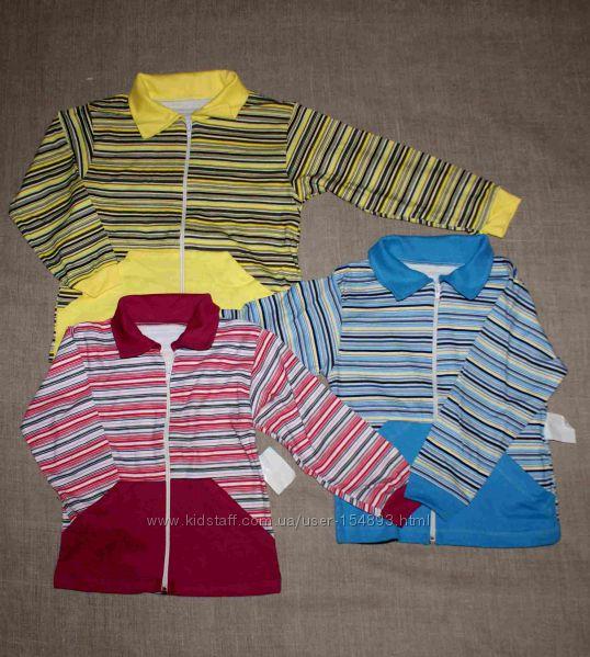 нова 3-4-5 р 30 и 32 хлопок новая интерлок курточка с ветровочка ветровка л