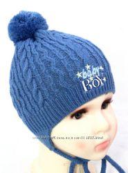 новая шапка для мальчика зима флис мех весна осень