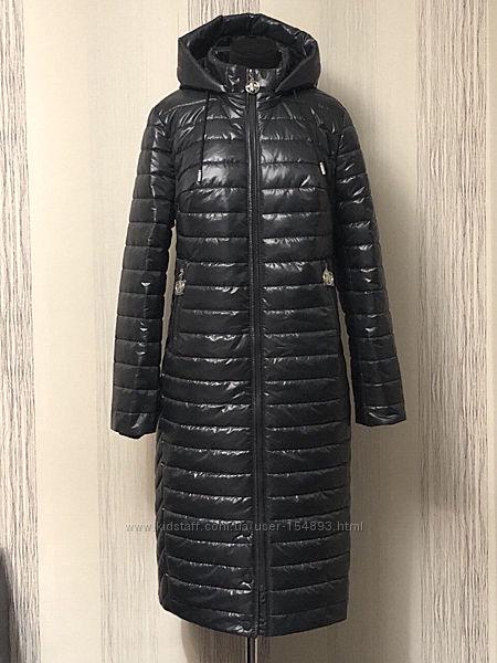 новое зимнее длинное 44-60 р пальто зимнее