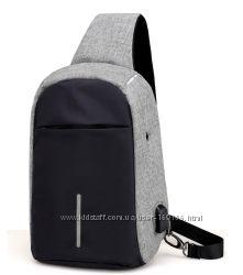 рюкзак мужской сумка на плечо бананка в наличии 2 цвета городской