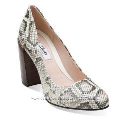 Очень стильные туфли CLARKS, 37, 5. Ст. цена 70 фунтов.