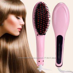 Расческа выпрямитель для волос - Fast Hair Straighter