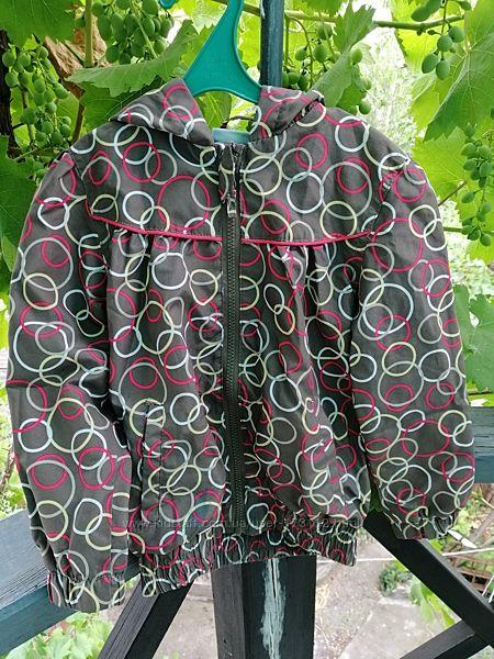 Куртка ветровка на 110- 116 см