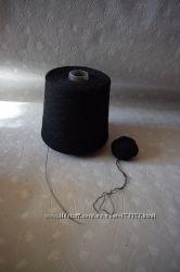 Нитки полушерсть для вязания в бабине