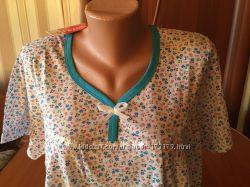 Новая женская  ночная рубашка  с биркой в упаковке  батал