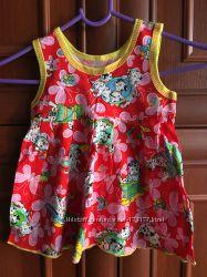 Сарафан  для девочки  новое  26 размер