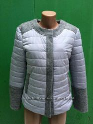 Куртка веснаосінь Сірий, пудра, зелений