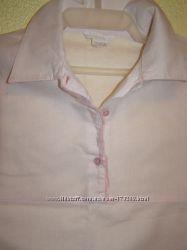Шикарная блуза в нежном розовом
