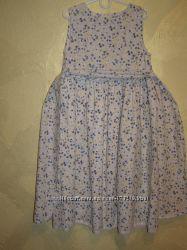 Потрясающее платье на девочку. 9-10 лет
