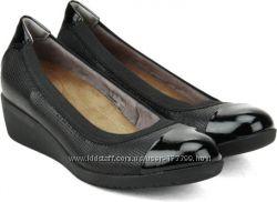Комфортные туфли на танкетке Clarks 39 размер