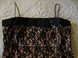 Вечернее платье-футляр кружево на чехле  р 52-54