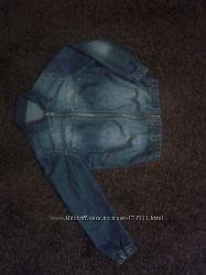 Ветровка джинсовая на р, 110